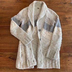 Free People Knit Sweater Cardigan Size S